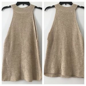 NWOT Zara knit sleeveless top